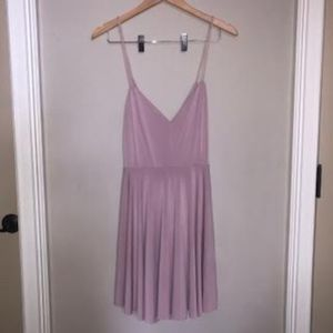 Kimchi Blue Blush Pink Dress with Strappy Back